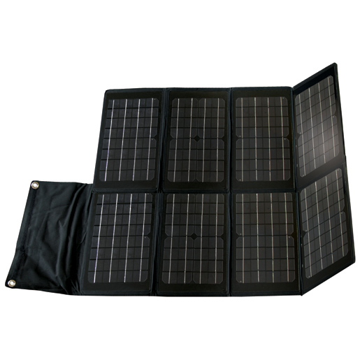 Nature Power Foldable Monocrystalline Solar Panel—80 Watts