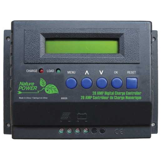 Nature Power 28 Amp Charge Controller Sale $99.99 SKU: 14996409 ID# 60028 UPC# 839290006054 :