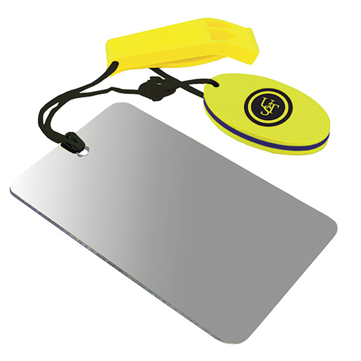 Ultimate Survival Technologies Hear-Me Whistle/Find-Me Mirror Combo