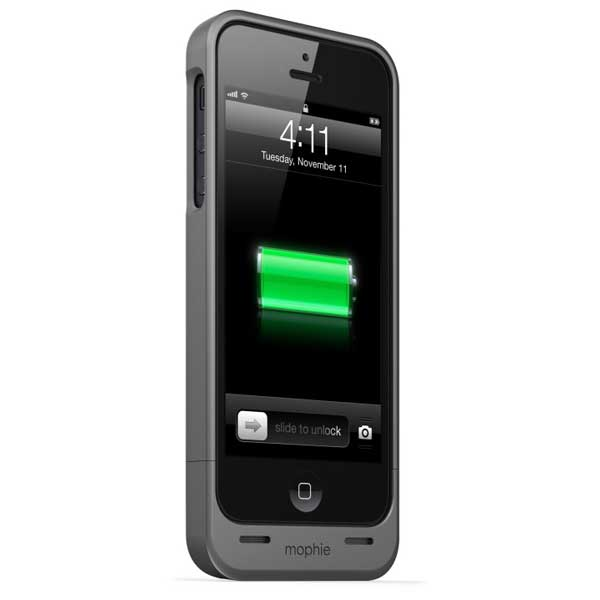 Mophie Juice Pack Helium Battery Case for iPhone 5, Black
