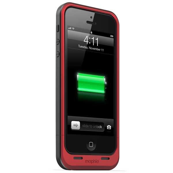 Mophie Juice Pack air for iPhone 5, Red