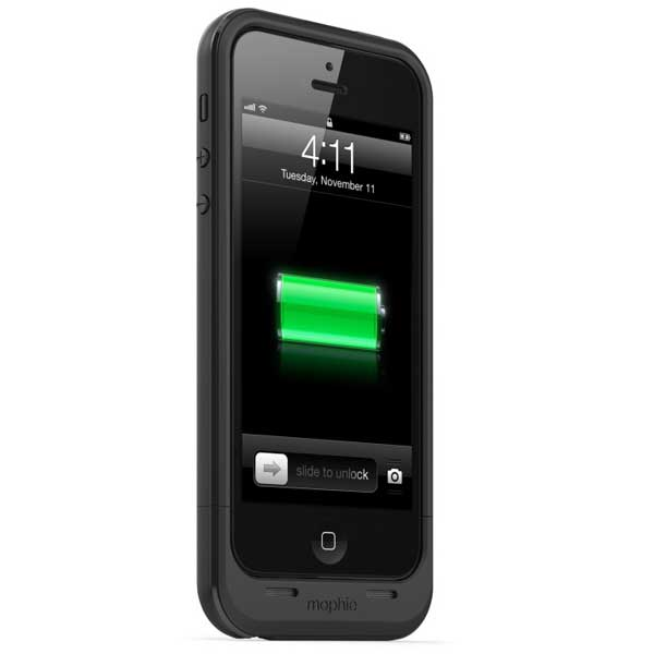 Juice Pack Plus Battery Case for iPhone 5/5s, Black