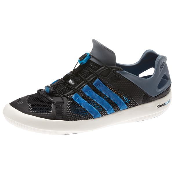 Adidas Mens Climacool Boat Breeze Water Shoes Black_blue