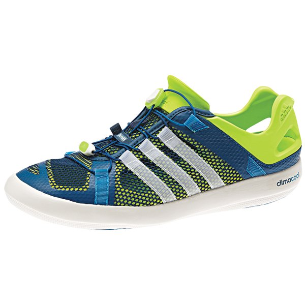 Adidas Mens Climacool Boat Breeze Water Shoes Blue/green