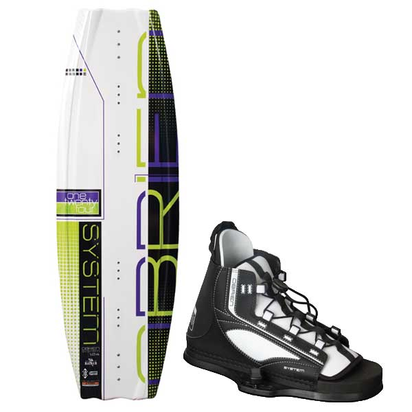 O'brien System 124cm Wakeboard Combo with System Jr 2 Bindings