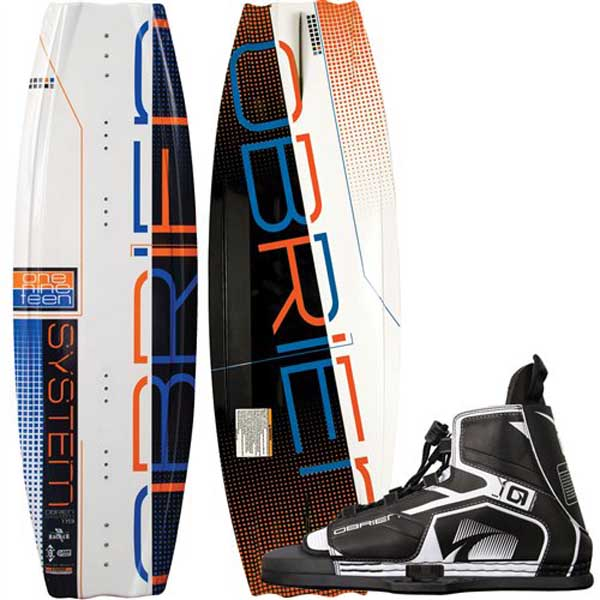 O'brien System 140cm Wakeboard Combo with Device Bindings