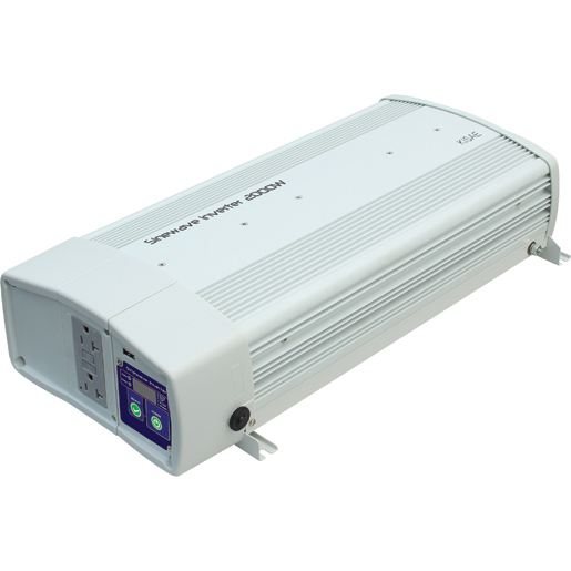 Kisae Technology Co Ltd. SWX1220 Pure Sine Wave Inverter with Transfer Switch
