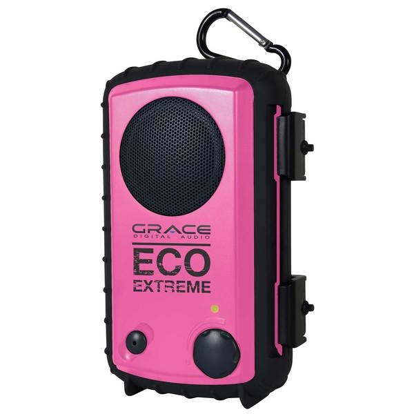 Ecoxgear ECOEXTREME IPX7 Waterproof Case with Built-in Speaker, Pink Sale $39.99 SKU: 15020936 ID# GDI-AQCSE106 UPC# 893153002706 :