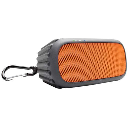 Ecoxgear EcoROX Bluetooth Portable Audio System—Orange