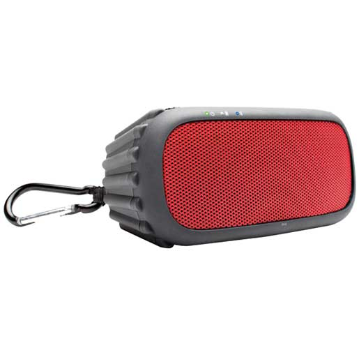 Ecoxgear EcoROX Bluetooth Portable Audio System—Red
