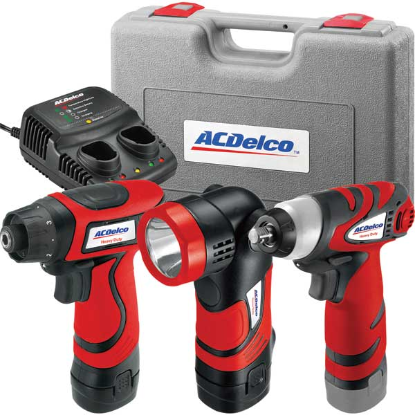 Ac Delco Li-ion 8V 3-in-1 Combo Kit