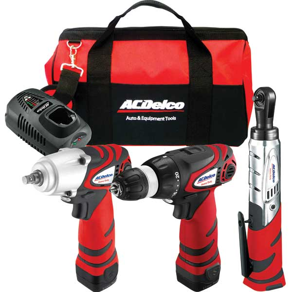 Ac Delco 12V 3-in-1 Cordless Combo Kit