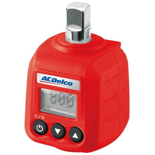 Ac Delco Digital Torque Cube, Drive Type 3/8, Dia. 3L x 1 7/8W x 1 7/8H, RoA 3-59ft.-lb.