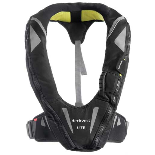 Spinlock Automatic Inflatable DeckVest LITE, USCG-Approved, Black Sale $189.99 SKU: 15038474 ID# DW-LCG/R UPC# 5025138503877 :