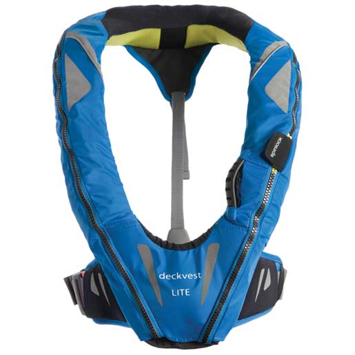 Automatic Inflatable DeckVest™ LITE Life Jacket, USCG Approved, Pacific Blue