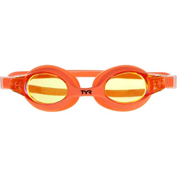 Tyr Sport Inc Kid's Mirrored Swimples Goggles, Mango Sale $9.99 SKU: 15042575 ID# LGSWM-841 UPC# 36702141963 :