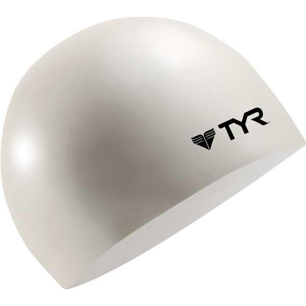 Tyr Sport Inc Wrinkle-Free Silicone Swim Cap, White Sale $8.99 SKU: 15042674 ID# LCS-100 UPC# 36702233002 :