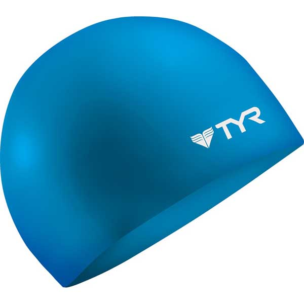 Tyr Sport Inc Wrinkle-Free Silicone Swim Cap, Blue Sale $8.99 SKU: 15042682 ID# LCS-420 UPC# 36702233064 :