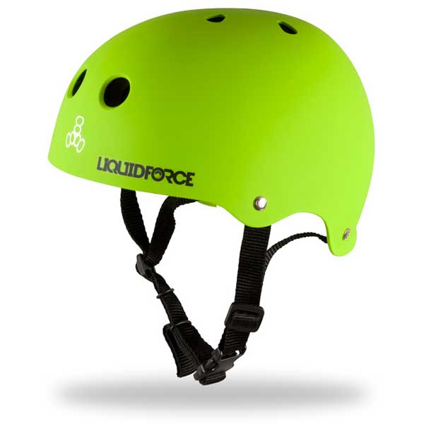 Liquid Force Core Helmet, Green, Extra Small