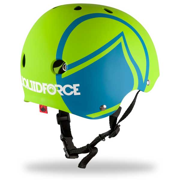 Liquid Force Youth Icon Helmet, Green/Blue Small