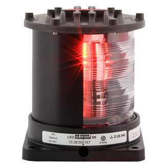 Aqua Signal Series 65 Navigation Light, Port, Black, 115/230V Sale $1399.99 SKU: 15043771 ID# 3664205000 UPC# 54628856884 :