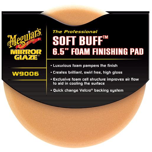 Meguiars Softbuff 6.5 Foam Finishing Pad Sale $19.99 SKU: 15044282 ID# W9006 UPC# 70382190064 :