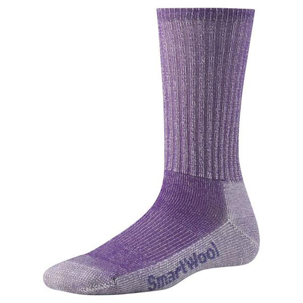 Smartwool Women's Hike Light Crew Socks Grape Sale $10.77 SKU: 15063514 ID# SW293-915-4 UPC# 605284446973 :