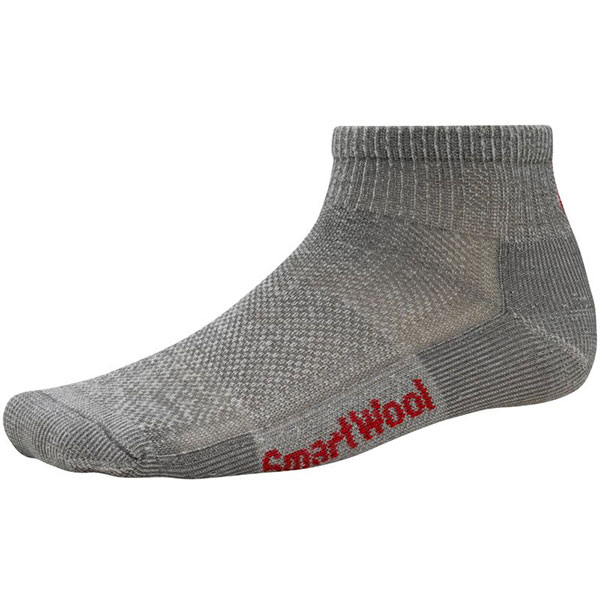 Smartwool Men's Hike Ultra Light Mini Socks Gray Sale $8.37 SKU: 15063621 ID# SW450-3209-5 UPC# 605284398296 :