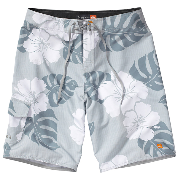 Men's Betta Board Shorts, Steel, 40