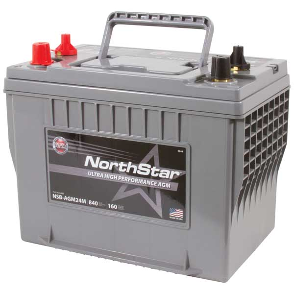 Northstar Battery Thin Plate Pure Lead AGM Battery—Group 24