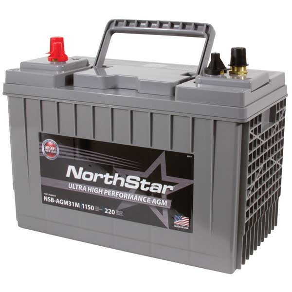 Northstar Battery Thin Plate Pure Lead AGM Battery—Group 31