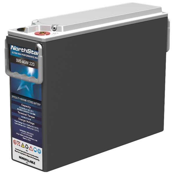 Northstar Battery Thin Plate Pure Lead AGM Battery—Specialty Group