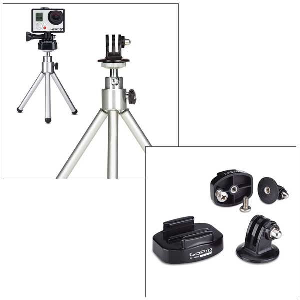 Gopro Tripod Mount with Quick Release Sale $9.99 SKU: 15081946 ID# ABQRT-001 UPC# 818279010688 :