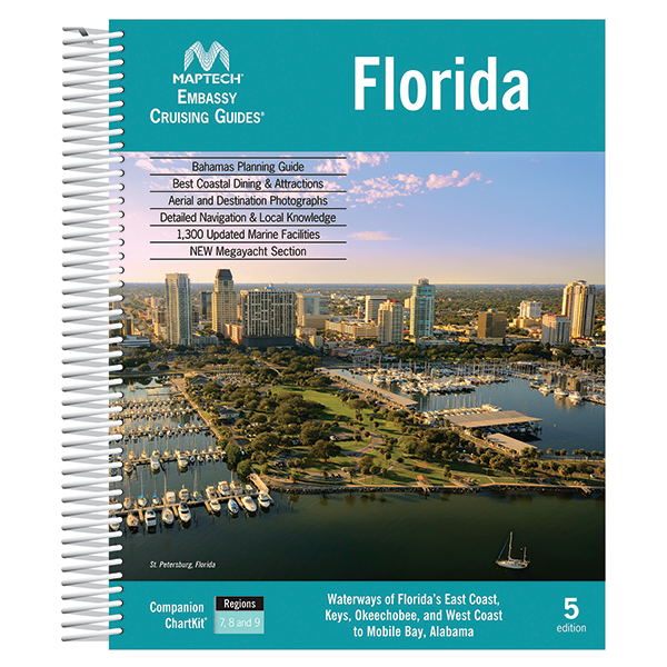 Maptech Florida, 5th Edition Sale $44.99 SKU: 15088230 ID# CGFL-05 UPC# 9780743611091 :