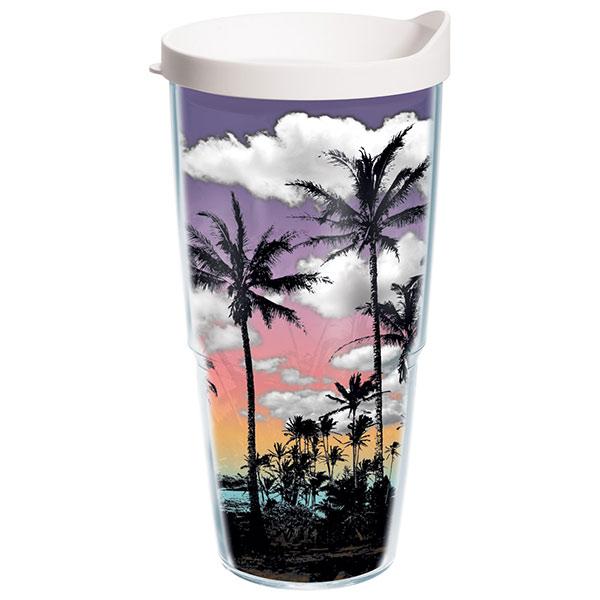 Tervis Palm Trees 24 oz. Wrap Tumbler, With Lid Sale $19.99 SKU: 15088610 ID# TREE-I-24-PALM UPC# 93597654206 :
