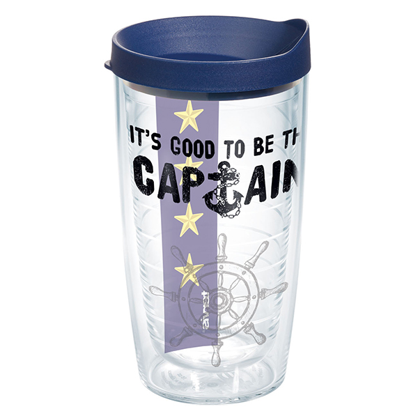 Tervis Good To Be Captain Tumbler, 16oz.