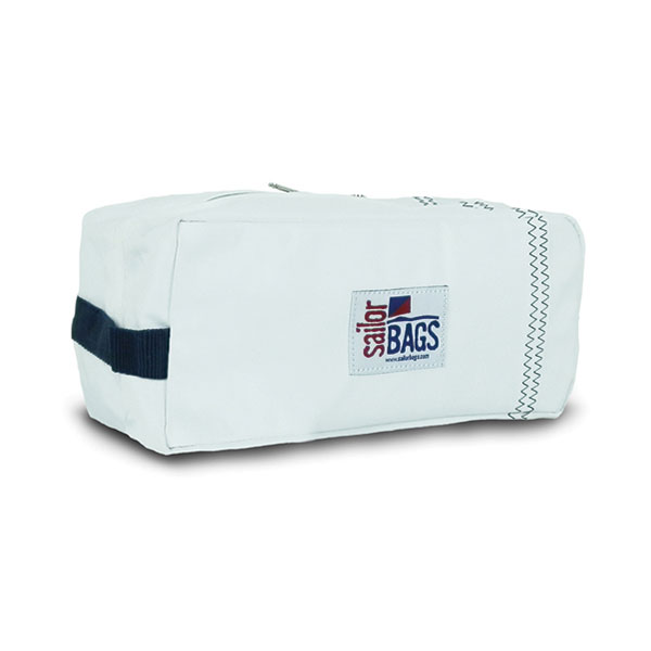 Sailor Bags Sailcloth Toiletries Kit White