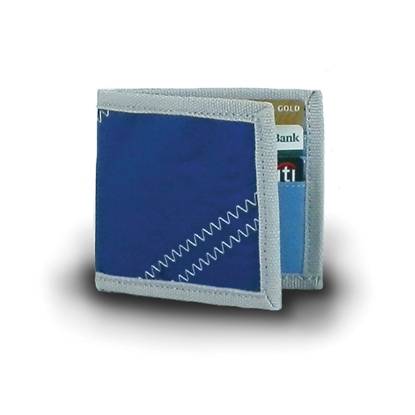 Sailor Bags Sailcloth BiFold Wallet, Blue Sale $14.88 SKU: 15093065 ID# 305BG-240-105 UPC# 856505002458 :
