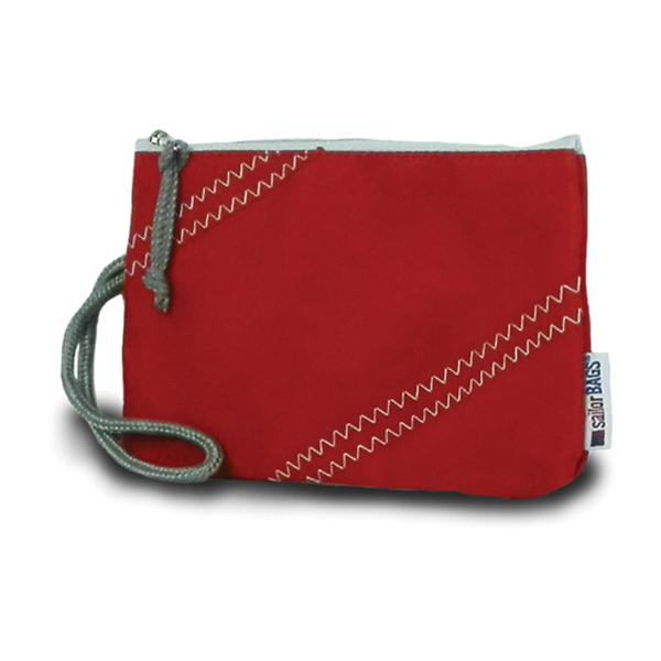 Sailor Bags Sailcloth Wristlet Red Sale $22.00 SKU: 15093057 ID# 316RG-56-105 UPC# 856505002496 :