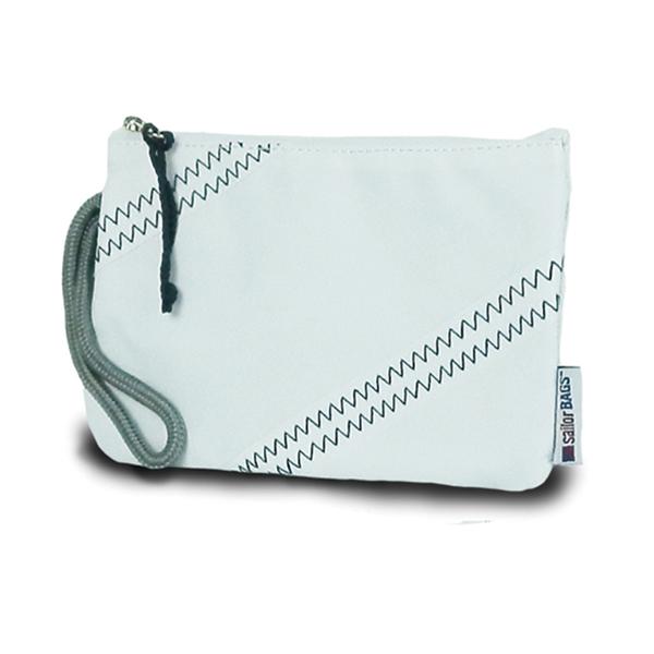 Sailor Bags Sailcloth Wristlet White Sale $22.00 SKU: 15093040 ID# 316WB-47-105 UPC# 856505002502 :