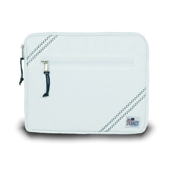 Sailor Bags Sailcloth iPad Sleeve White
