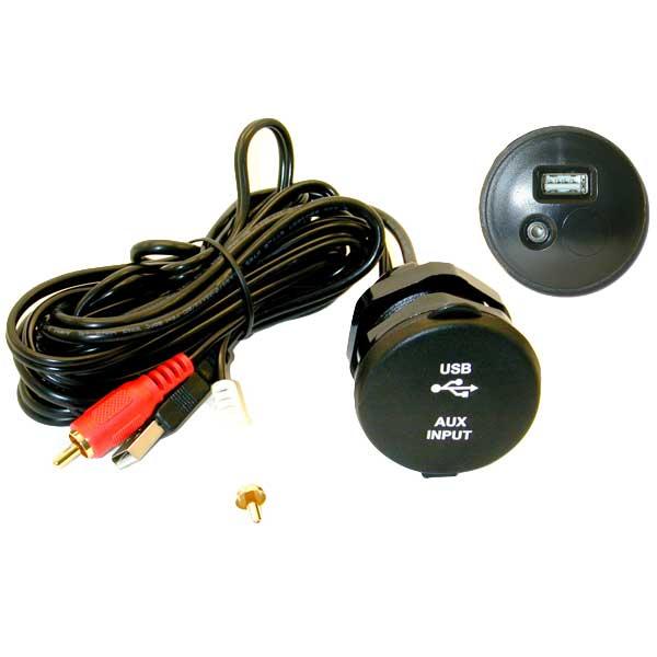 Poly-planar USB/AUX Accessory Extension Cable