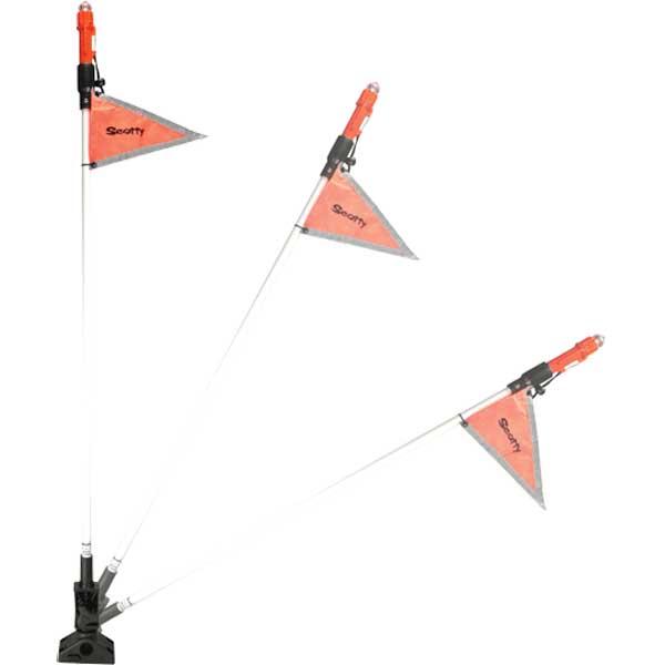 Scotty SEA-Light with Reflective Flag Sale $82.99 SKU: 15097595 ID# 828 UPC# 62017008288 :