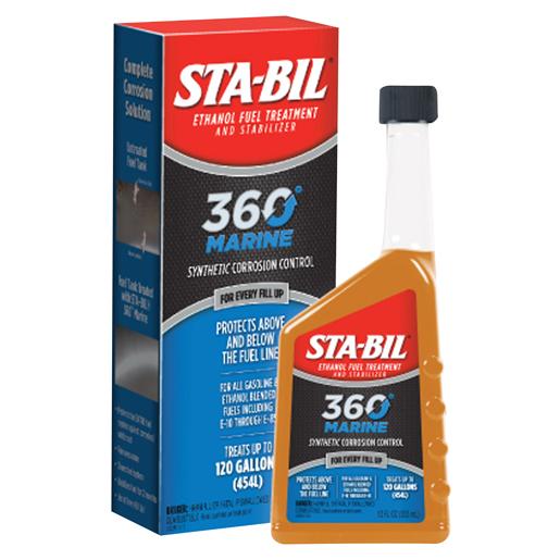 Sta-bil 360 Marine Ethanol Fuel Treatment and Stabilizer—12oz.