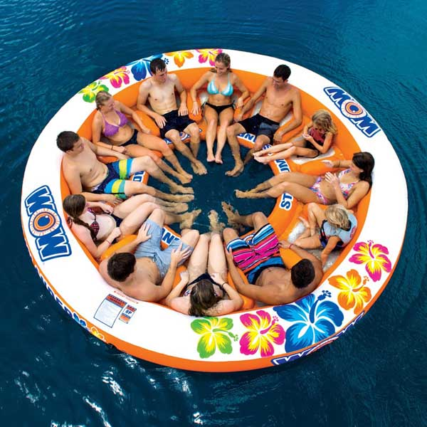Wow Sports Stadium Islander 12-Person Float Sale $349.99 SKU: 15100142 ID# 14-2090 UPC# 4897034342222 :