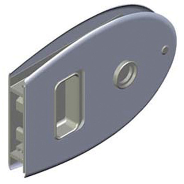 Southco Marine MF Flush Oval Sliding Door Latch
