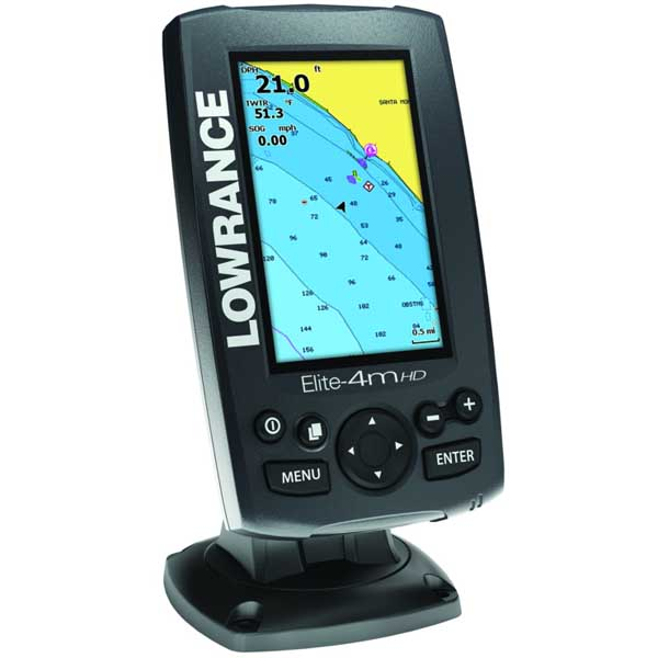 Elite-4m HD Chartplotter