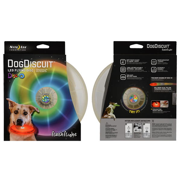 Flashflight LED Dog Discuit
