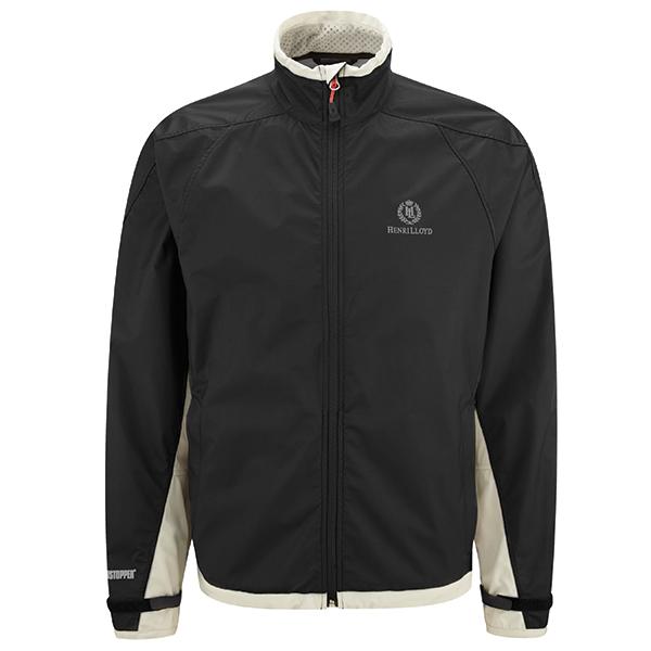 Henri Lloyd Men's Orion Windstopper Dinghy Jacket, Black, S
