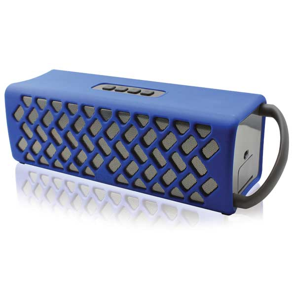 NUU Wake Waterproof Bluetooth Speaker—Blue